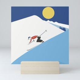 White freshness Mini Art Print