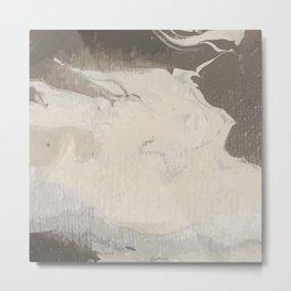 Marbled Hot Chocolate Metal Print