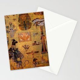 Egypt Collage Stationery Cards