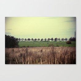 Offenes Land Canvas Print