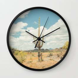 Old West Arizona Wall Clock