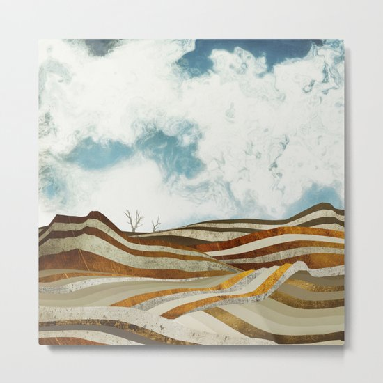 Desert Calm Metal Print