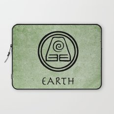 Avatar Last Airbender Elements - Earth Laptop Sleeve