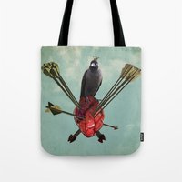 arrows Tote Bags featuring Arrows by Seamless
