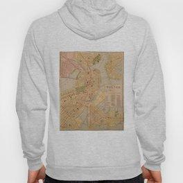 Vintage Map of Boston MA (1902) Hoody