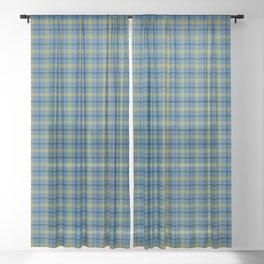 Laing Tartan Plaid Sheer Curtain