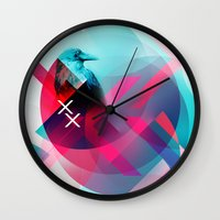 the xx Wall Clocks featuring XX by NewFoundBrand