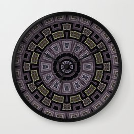 Embroidery beads and beads Wall Clock