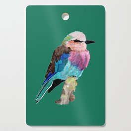 Lilac Breasted Roller Bird Cutting Board
