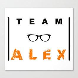 Team Alex Canvas Print