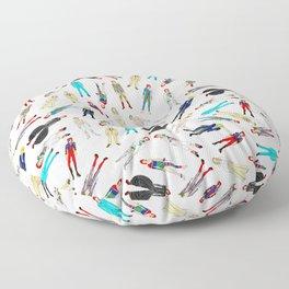Floating Heroes Floor Pillow