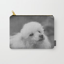 Toy Poodle Carry-All Pouch