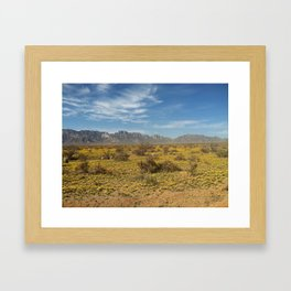 The New Mexico I know Framed Art Print