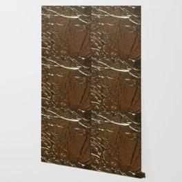Golden Wrinkles Wallpaper