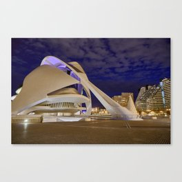 Opera house. Valencia Canvas Print