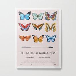 The Duke of Burgundy alternative movie poster Metal Print