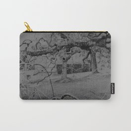 /gray_trees. Carry-All Pouch