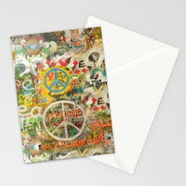 Peace Sign - Love - Graffiti Stationery Cards