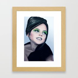 Little Diva Framed Art Print