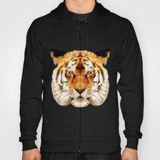 abstract tiger Hoody