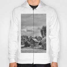 Down on the Farm Black and White Hoody