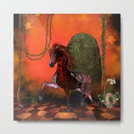 Wonderful fantasy horse Metal Print