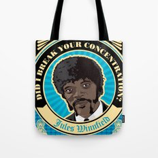 Jules Winnfield Portrait Tote Bag