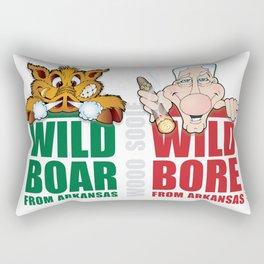 Wild Boar & Bill the Bore! Rectangular Pillow