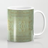wooden Mugs featuring Wooden Pattern by Barruf designs