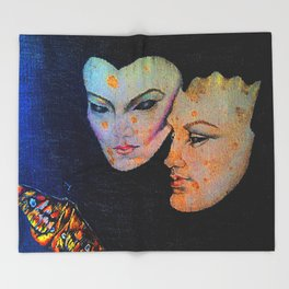 The lovers 1986 Throw Blanket