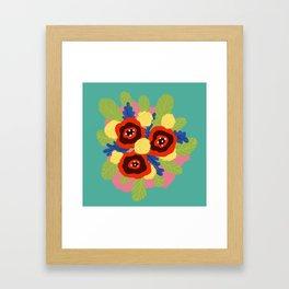 Bouquet #1 Framed Art Print
