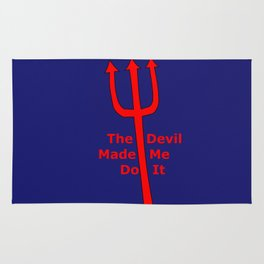 The Devil Made Me Do It Rug