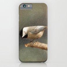 Black Capped Chickadee iPhone 6s Slim Case