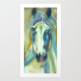 Horse in Color Art Print