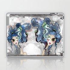 the deep girl-1 Laptop & iPad Skin