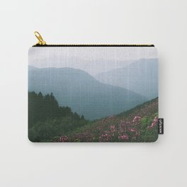 Mountains & Flowers Carry-All Pouch