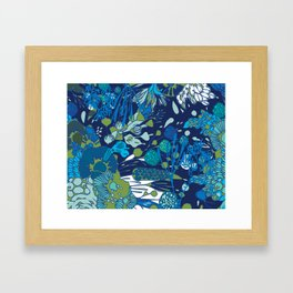 WATER YOU TALKING ABOUT? Framed Art Print