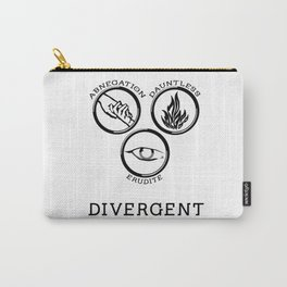 Divergent (Black) Carry-All Pouch