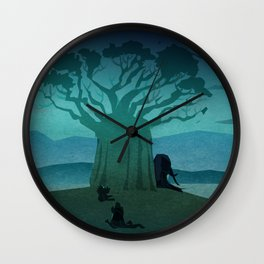 Los Contertulios Wall Clock