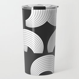 Xmas Typo Black #society6 #decor #buyart Travel Mug