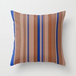 Color's Waterfalls_Beige Throw Pillow