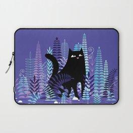 The Ferns (Black Cat Version) Laptop Sleeve
