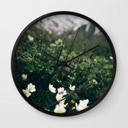 Baby Blooms Wall Clock