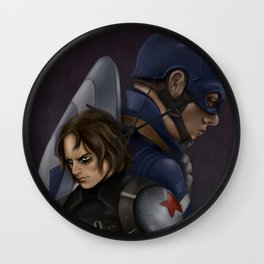 The Soldier and the Captain. Wall Clock