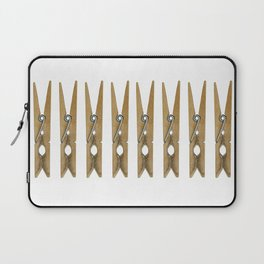 old clothes pins Laptop Sleeve