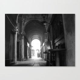 Italian perspective Canvas Print
