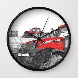 Case IH Tractor Wall Clock