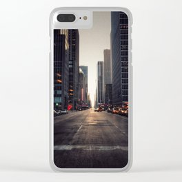Midday Midtown Clear iPhone Case