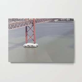 Bridge Metal Print