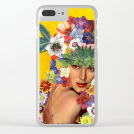 Ava Gardner Clear iPhone Case
